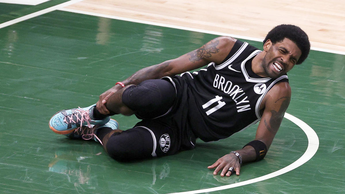 Milwaukee Bucks Brooklyn Nets Kyrie Irving injury Game 5 NBA Playoffs