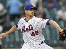 Jacob deGrom is not only the favorite to win the NL Cy Young Award, but now also leads the race for MVP. (Image: Frank Franklin II/AP)