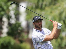 Jon Rahm withdrew from the Memorial Tournament on Saturday after testing positive for COVID-19. He held a six-shot lead after three rounds. (Image: Aaron Doster/USA Today Sports)