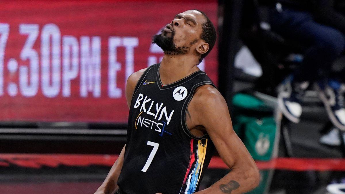 Kevin Drant 49 Poin Brooklyn Nets Milwaukee Bucks Game 5 Playoff NBA