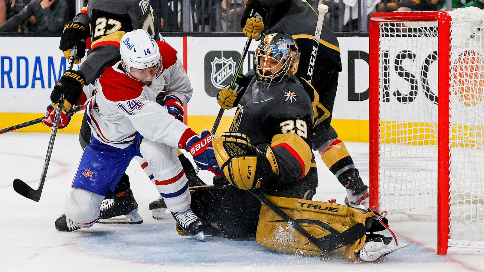 Golden Knights Canadiens odds