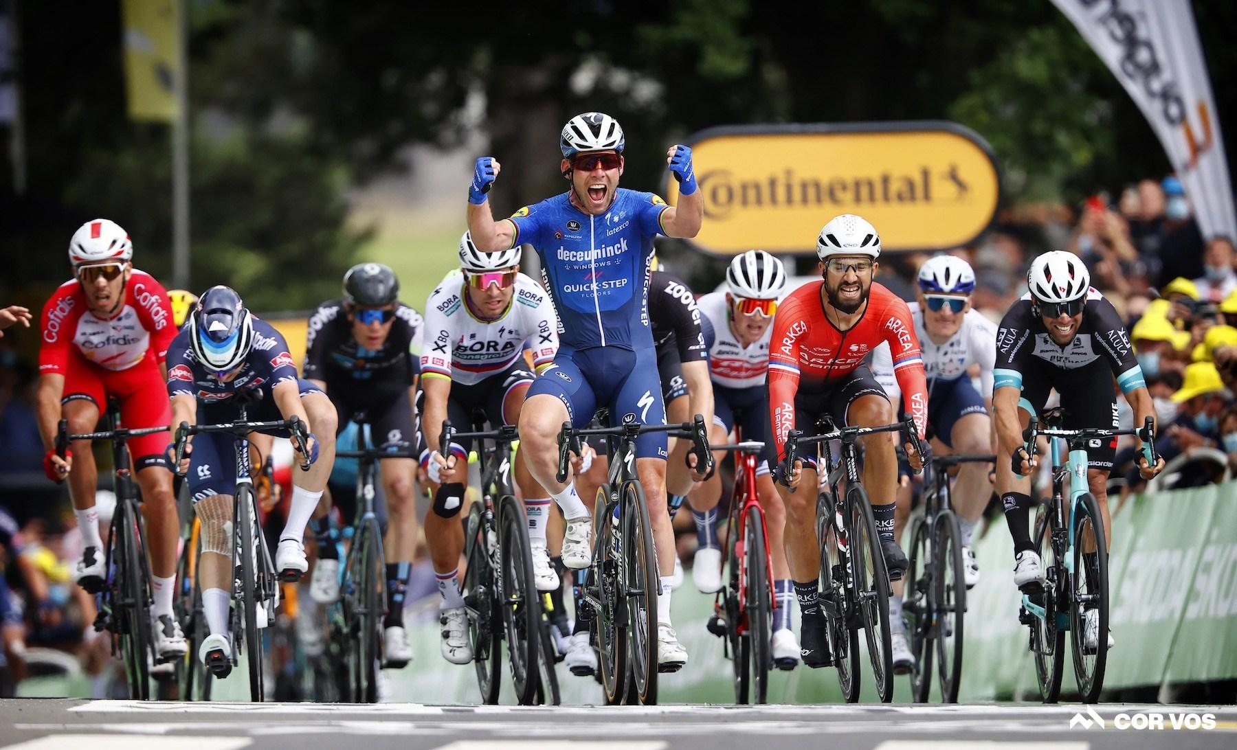 Mark Cavendish Stage 4 Tour de France Fougeres