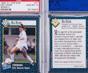 Mia Hamm card (TMZ)