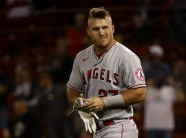 Mike Trout says there's no firm timetable for his injury return. But he remains among the top candidates to win the AL MVP award. (Image: Winslow Townson/AP)