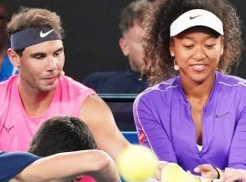 Both Rafael Nadal (left) and Naomi Osaka (right) have dropped out of the 2021 Wimbledon tournament. (Image: Scott Barbour/AAP Image)