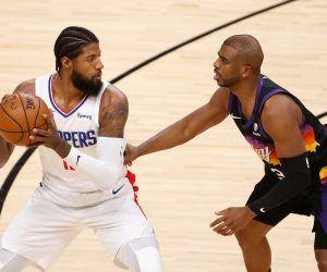 LA Clippers Phoenix Suns NBA Playoffs Western Conference Finals Series Paul George Kawhi Leonard Chris Paul