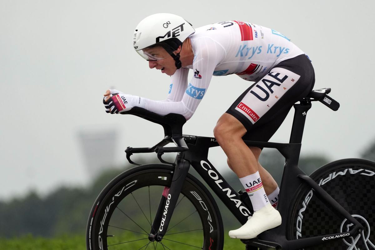 Tour de France Tahap 5 Time Trial Tadej Pogacar