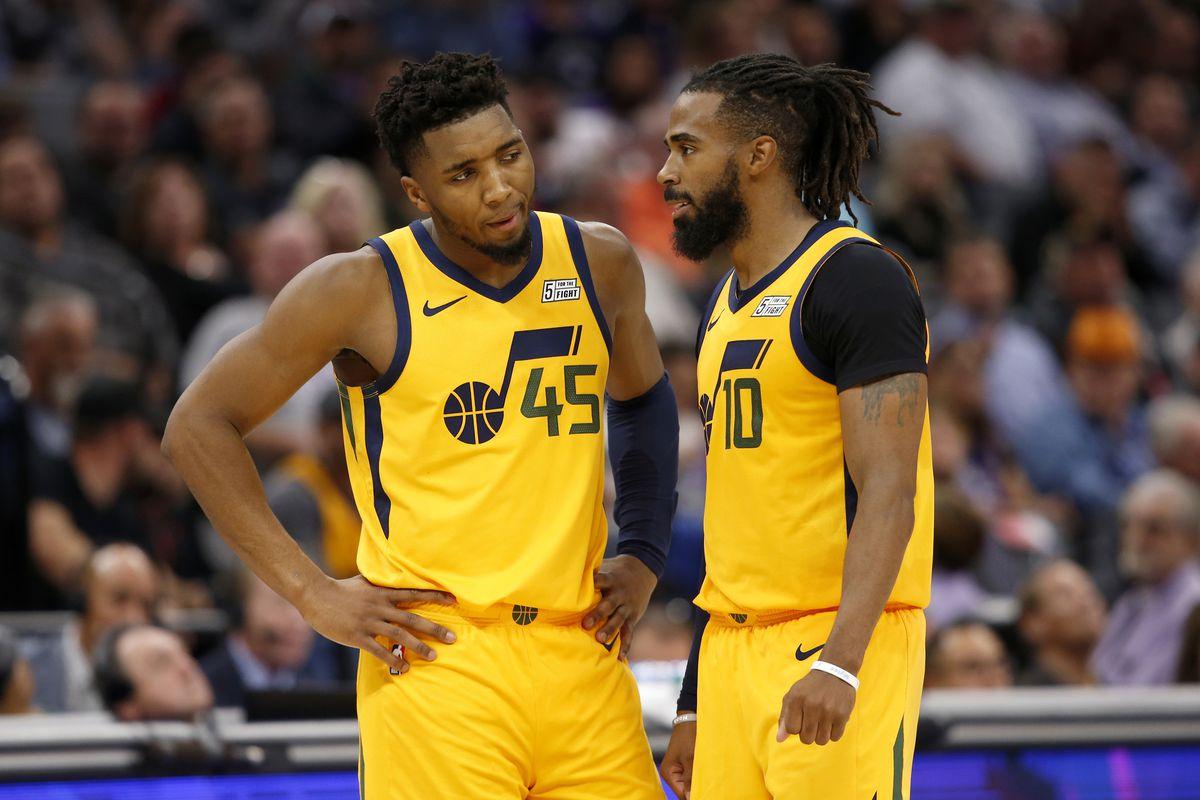 NBA Playoffs Series Utah Jazz LA Clippers Curse Mike Conley Donovan Spida Mitchell