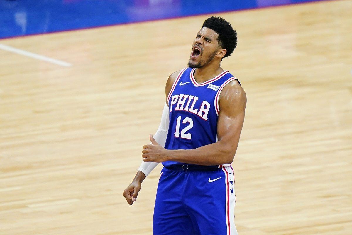 Tobias Harris Joel Embiid injury Philadelphia 76ers Atlanta Hawks series NBA playoffs