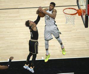 Trae Young Greek Freak Atanta Hawks Milwaukee Bucks NBA Playoffs Series Eastern Conference Finals