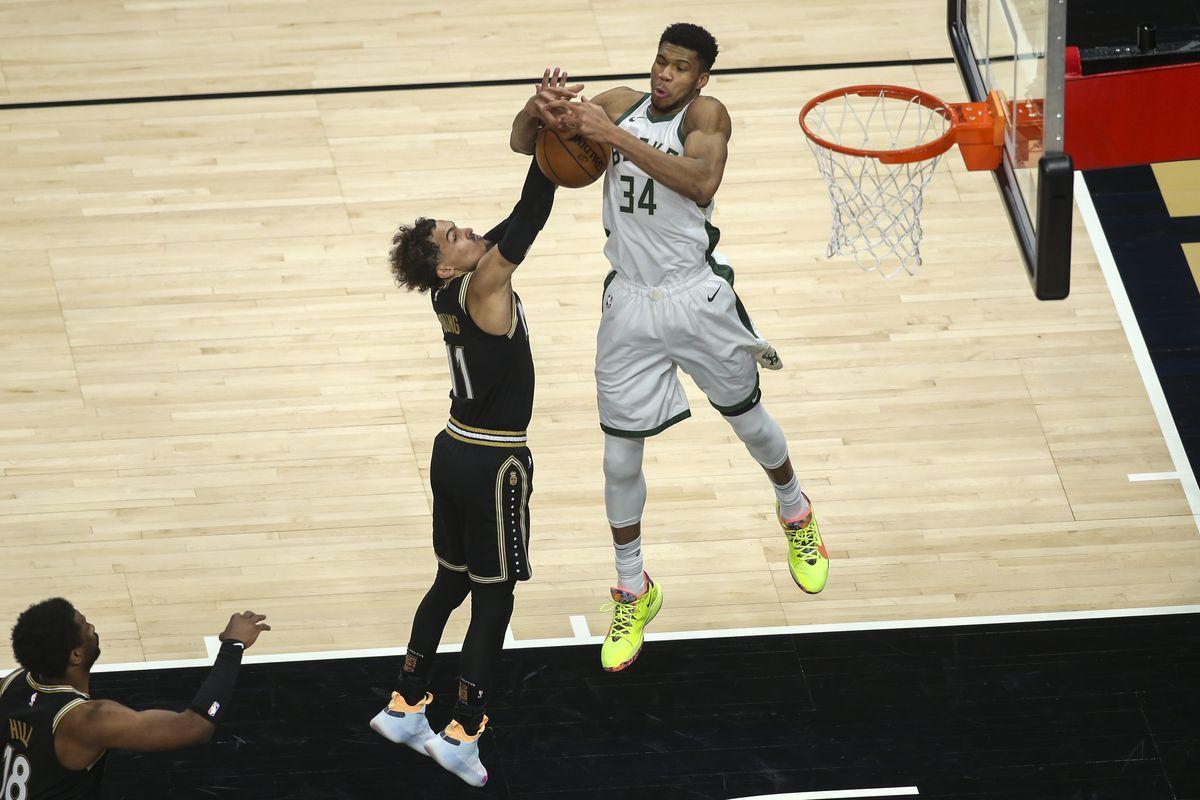 Trae Young Greek Freak Atanta Hawks Milwaukee Bucks Seri Playoff NBA Final Wilayah Timur