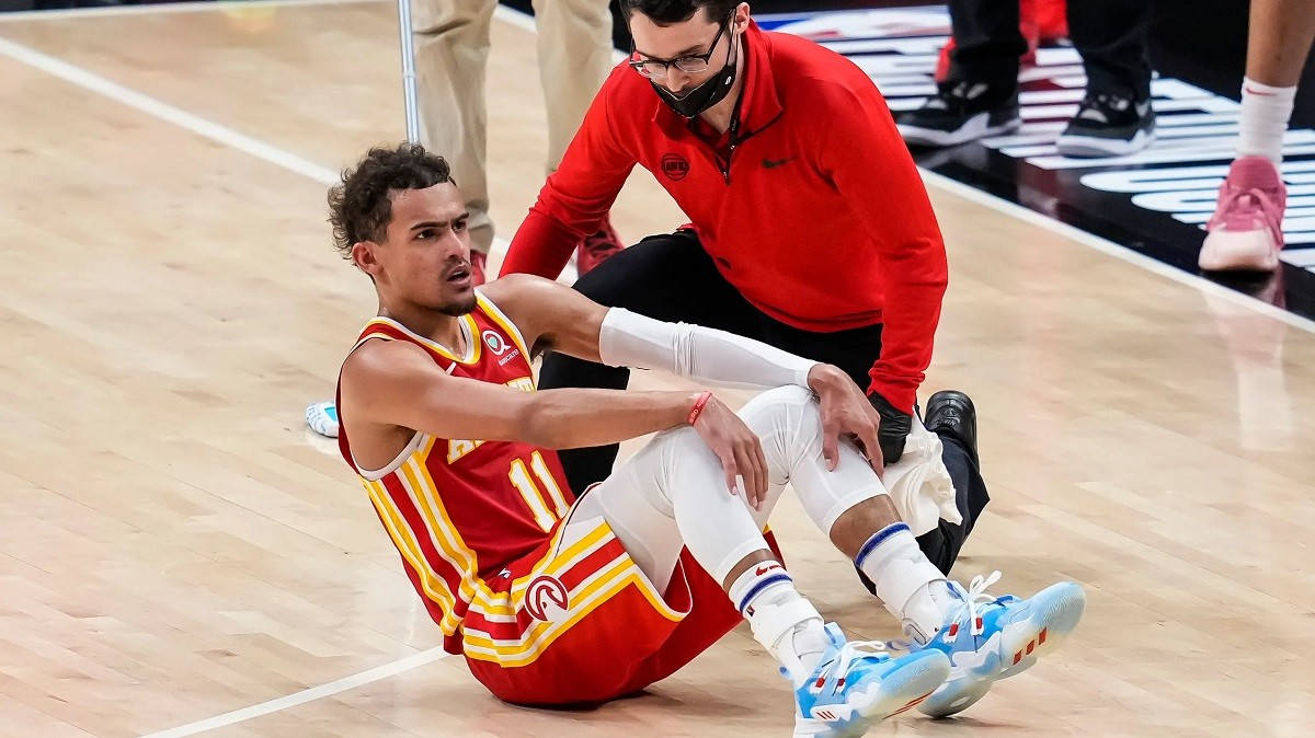 Laporan Cedera Trae Young Game 4 NBA Atlanta Hawks Ankle