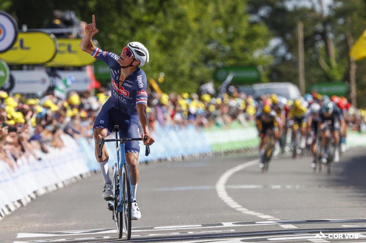 Mathieu van der Poel Stage 2 Tour de France