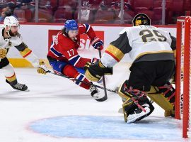 The Montreal Canadiens will try to clinch a spot in the Stanley Cup Finals on Thursday when they host the Vegas Golden Knights in Game 6 of their semifinal series. (Image: Francois Lacasse/NHLI/Getty)