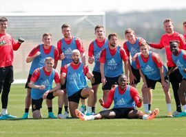 The Belgian national team is ready to challenge ahead of Euro 2020. (Image: Twitter / @SMignolet)