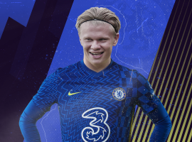 OnlineGambling.com simulated on Football Manager how an opening season at Chelsea could look like for Erling Haaland.
