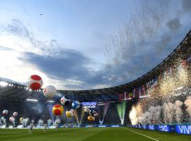 A wonderful ceremony at the Olimpico in Rome set-up the scene before Italy against Turkey. (Image: Twitter / @Euro2020)