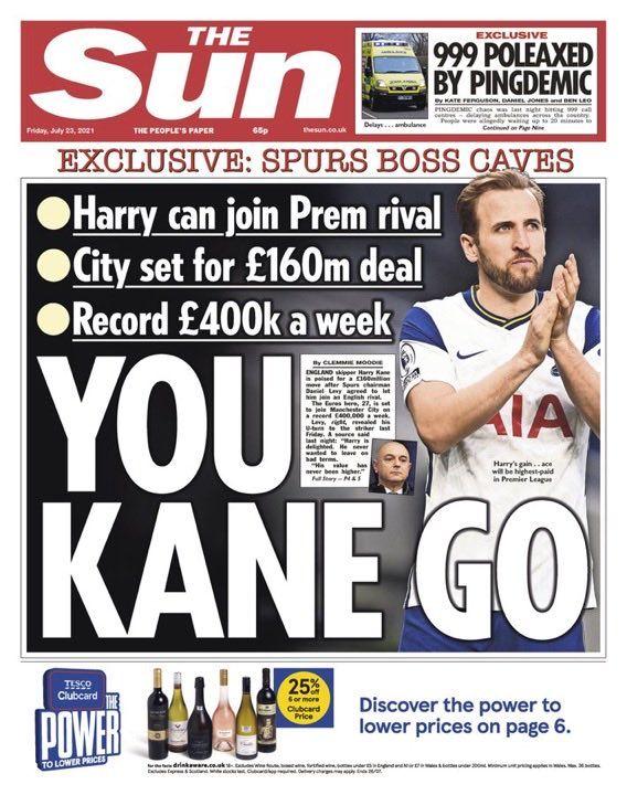 Kane transfer city