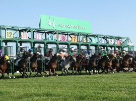 Arlington Park issued layoff notices to all union employees over the weekend. The suburban Chicago track is on the selling block and current owner Churchill Downs Inc. plans selling to a non-racetrack entity. (Image: Arlington Park)