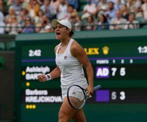 Wimbledon Ladies' Final odds Barty Pliskova