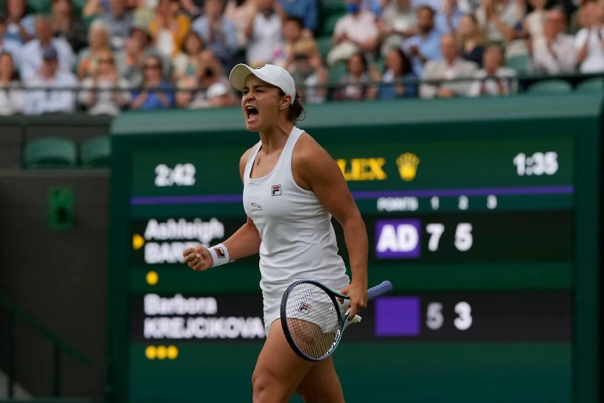 Odds Final Wimbledon Wanita Barty Pliskova