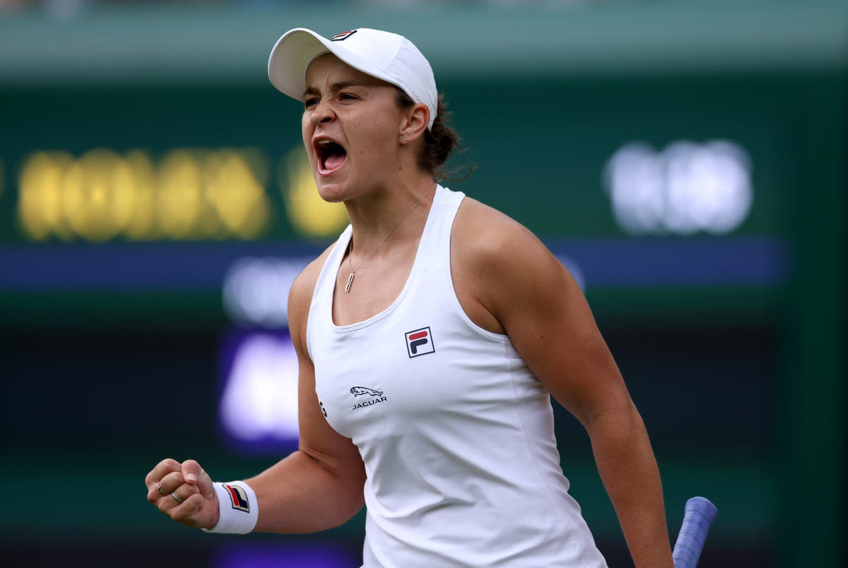Wimbledon semifinal odds women Barty