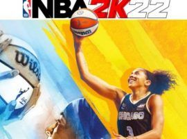 Candace Parker from the Chicago Sky is the first woman to appear on the cover of a NBA2K. (Image: 2K Sports)