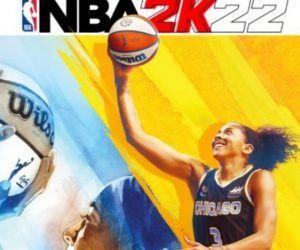 NBA2K 2K22 NBA 2K Candace Parker cover