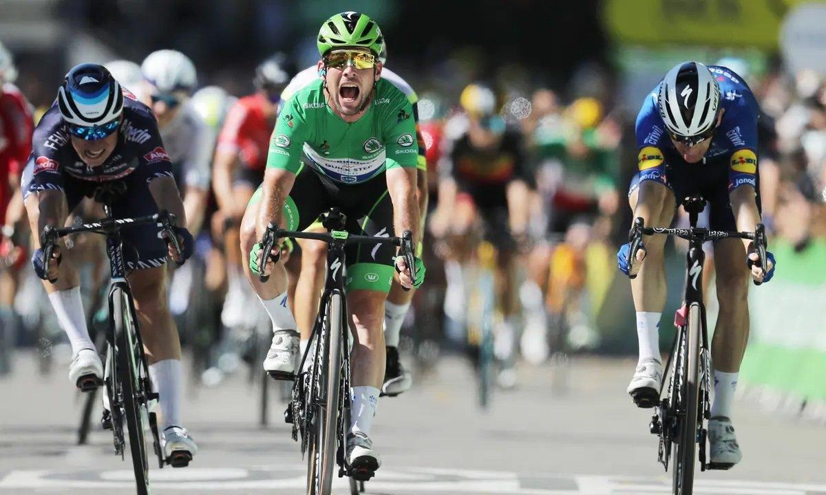 Mark Cavendish Stage 13 Le Tour de France Sprint Eddy Merckx Ties Stage Win Record