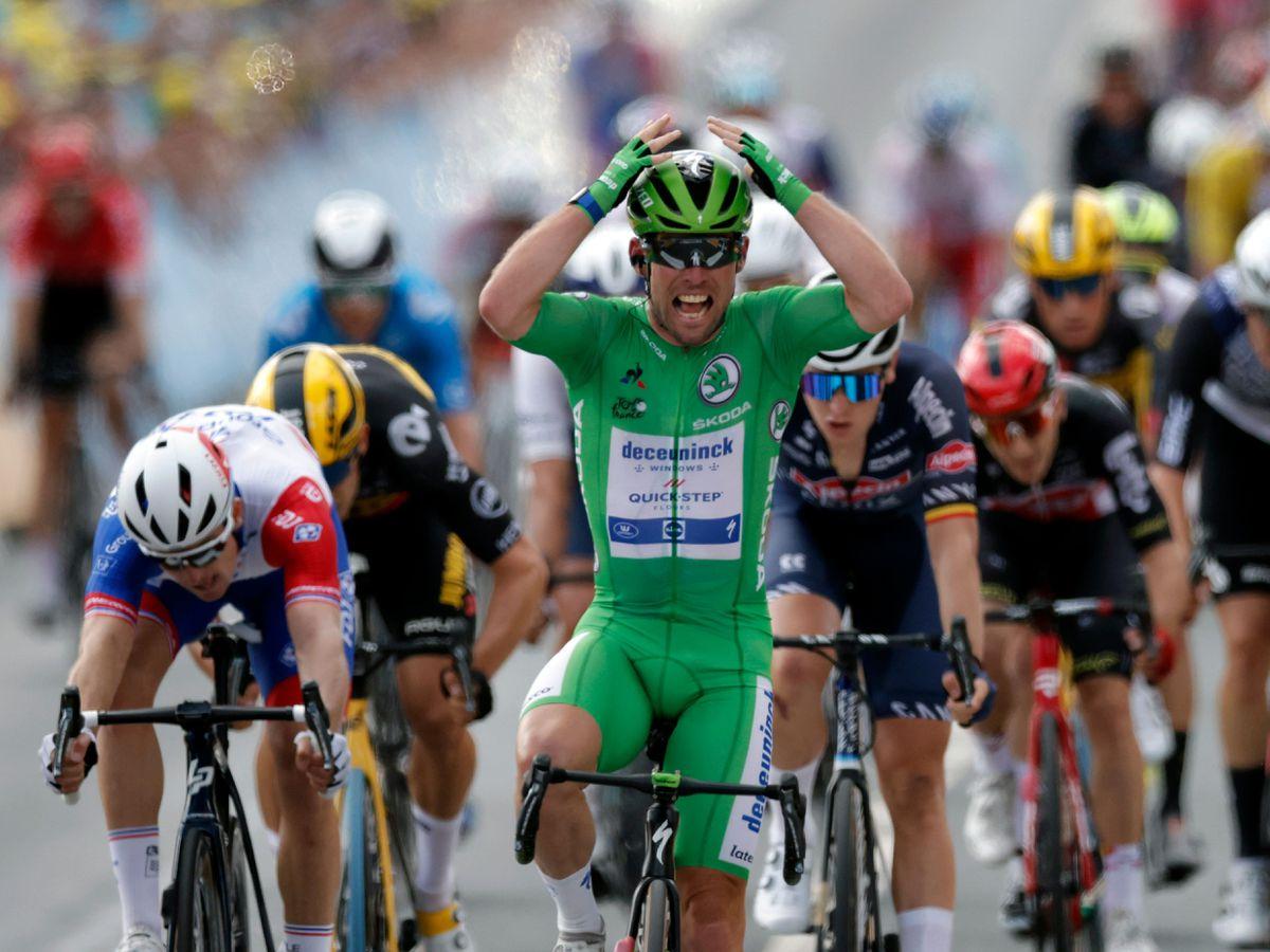 Mark Cavendish Stage 6 Tour de France Sprint Stage victory