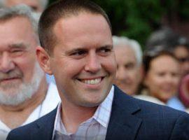 Chad Brown can afford to smile, after the 42-year-old trainer won his sixth consecutive Belmont Park Spring/Summer Meet training title. (Image: NYRA/Coglianese Photo)