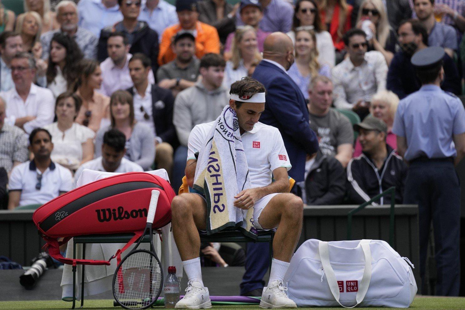Peluang Wimbledon Federer Hurkacz