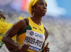 Shelly-Ann Fraser-Pryce (pictured) enters the women's 100m as the favorite to take home gold over countrywoman Elaine Thompson-Herah. (Image: Jewel Samad/AFP)