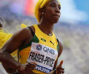 Women's 100m odds dash
