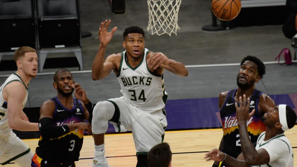 Peluang Taruhan Milwaukee Bucks Phoenix Suns 2021 Final NBA