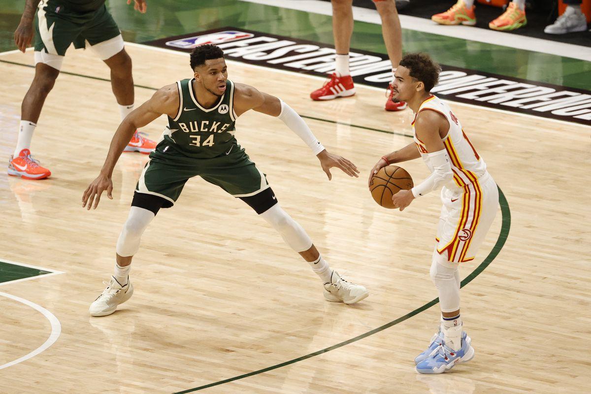 Greek Freak Injury Trae Young Milwaukee Bucks Game 5 Atlanta Hawks