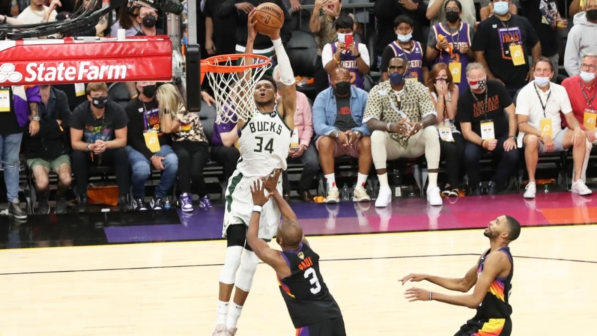 2021 NBA Finals Game 6 Preview Greek Freak Milwaukee Bucks Phoenix Suns