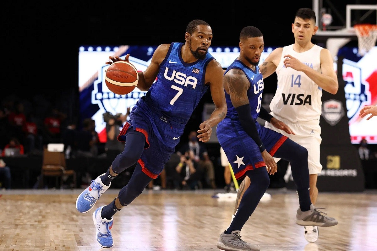 Kevin Durant Tim AS Argentina