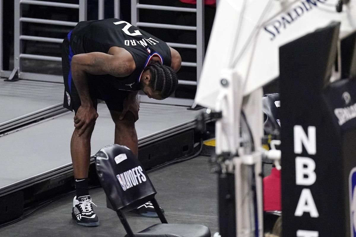 KawhiLeonard ACL injury surgery knee Clippers