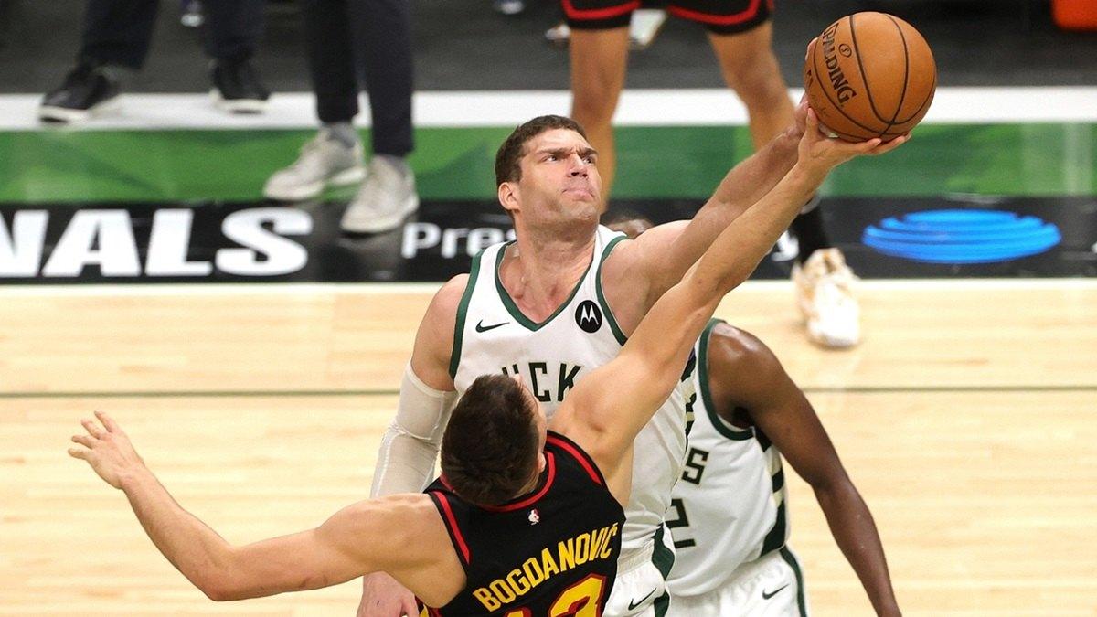 Brook Lopez Milwaukee Bucks Game 6 Atlanta Hawks