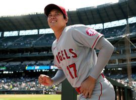 Shohei Ohtani will bat leadoff and take the mound for the American League in the 2021 MLB All-Star Game on Tuesday night. (Image: Getty)