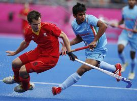 The world's top men's field hockey nations will compete for gold at the Tokyo Olympics, with Australia coming in as the slight favorite in the tournament. (Image: Suhaib Salem/Reuters)