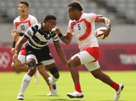 Fiji comes into the Tokyo Olympics as the favorite to defend its gold medal in men's rugby sevens – the country's only medal in Olympic history. (Image: Getty)