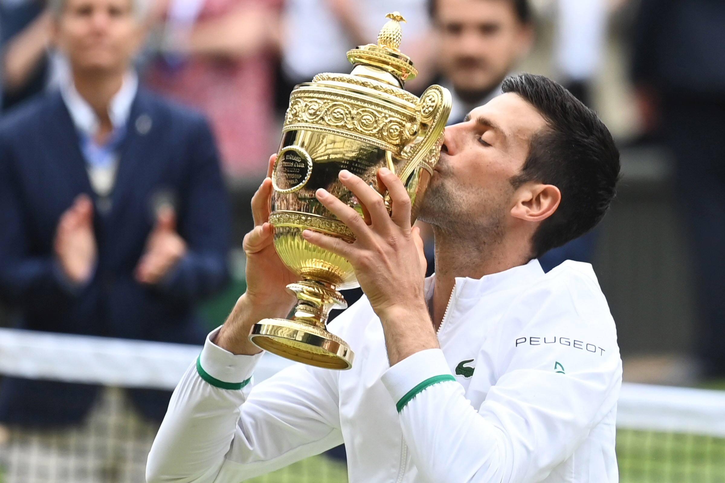 Novak Djokovic Barty Wimbledon