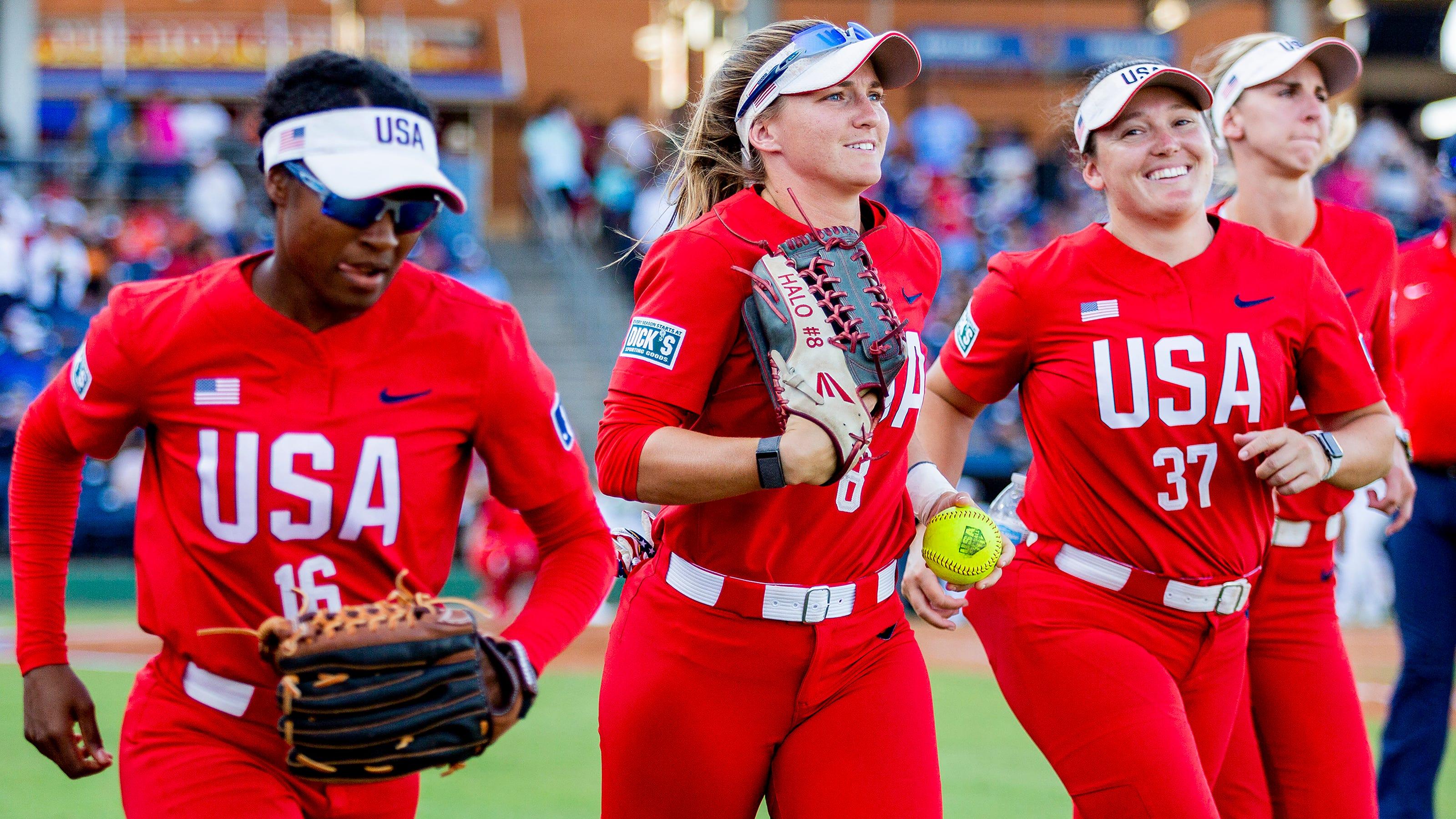 Olympic softball odds USA Japan