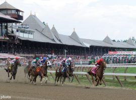 Saratoga plays integral roles in two Saturday exotic wagers: the Cross Country All Stakes Pick 6 and the Cross-breed Pick 5. (Image: NYRA)