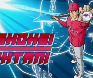 Shohei Ohtani anime video