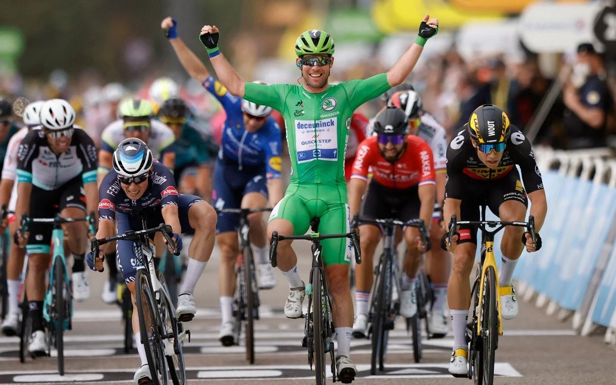 Tour de France Kemenangan Tahap 10 Mark Cavendish Sprint 2021