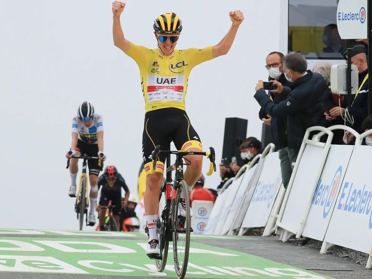 Tadej Pogacar Le Tour de France Stage 17 Col du Porter