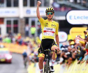 Stage 18 Tour Le de France Tadej Pogacar Luz Ardiden
